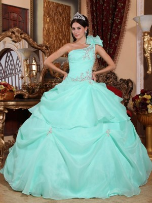 Apple Green Quinceanera Dresses