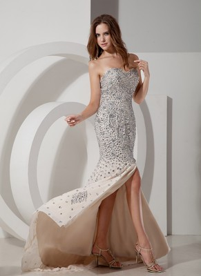 Champagne Evening Dresses