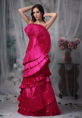 Hot Pink Evening Dresses