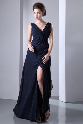 Navy Blue Celebrity Dresses