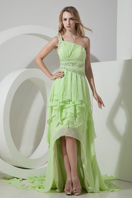 Yellow Green Cocktail Dresses