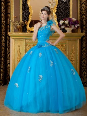 Blue Quinceanera Dresses