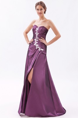 Dark Purple Evening Dresses