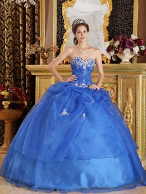 Royal Blue Quinceanera Gowns