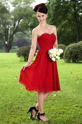Wine Red Bridesmaid Dresses