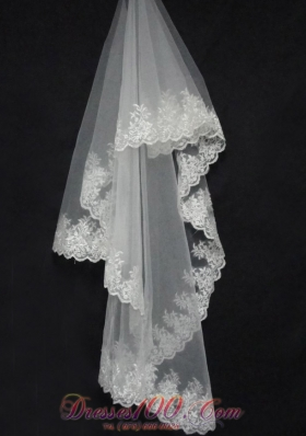 Veil for Popular Lace Decorate for Cheap