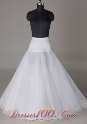 Fashion Tulle A-line Wedding Petticoat