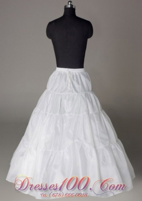 A-line Taffeta Petticoat for Wedding