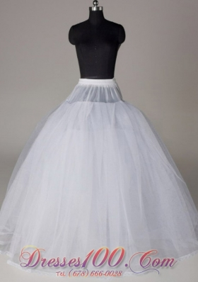 Ball Gown Wedding Petticoat for 2013 Organza