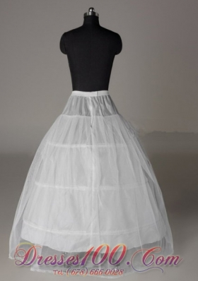 Simple Ball Gown Wedding Petticoat Two Layers