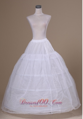 Tulle and Organza Floor-length Wedding Petticoat