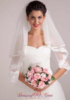 Elegant Wedding Bouquet for Bride Rose Pink Round Shape