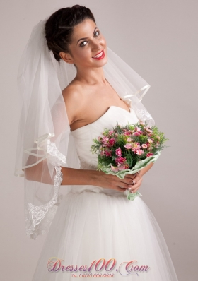 Round Shape Hand-tied Wedding Bridal Bouquet