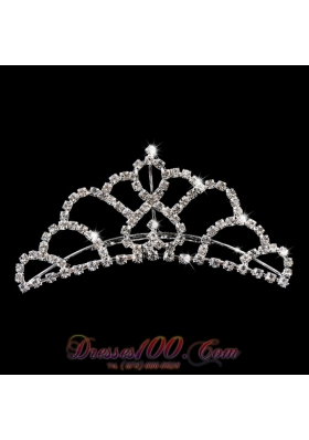 Princess Women's Tiara With Rhinestone Embellishments