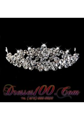 2013 Vintage Style Rhinestone Bridal Wedding Tiara