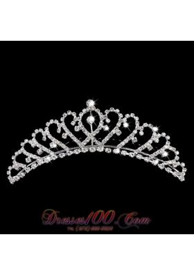 2013 Rhinestone Sweetheart Dazzling Bridal Tiara