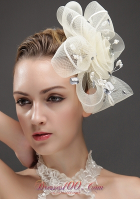 Rhinestones Women 's Fascinators Imitation Pearls Tulle