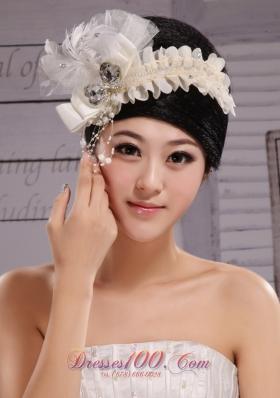 Headpiece Bride Tire Feather Wedding Anniversary