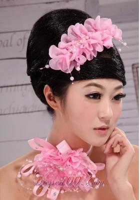 Popular 2013 Organza Pearl Multilayer Hair Comb