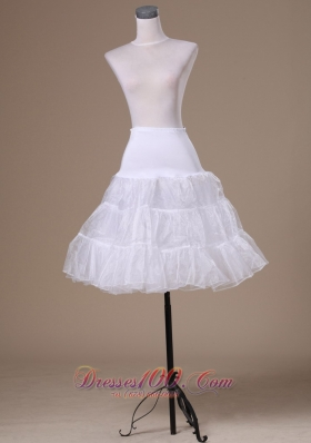 Mini Length Petticoat For Party Wedding Dresses