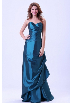Discount Prom Evening Dress Ruching Pick-ups
