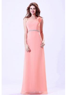 Belt Hand Made Watermelon Prom Evening Dress Straps