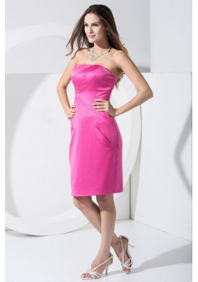 Cheap Hot Pink Prom Dress For 2013 Short