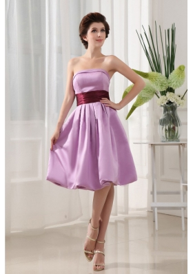 High Slit Purple High Slit Evening Dress Beading