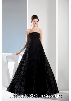 Black Strapless Short Column Dress For Prom with Cutouts