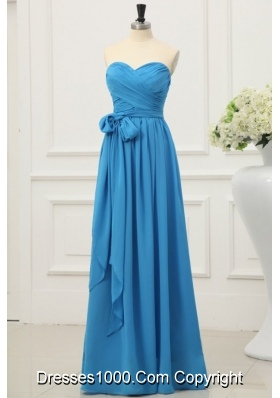 Teal Sweetheart Simple Style Empire Prom Dress On Sale