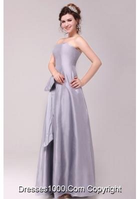 The Bran New Style Strapless A-line Taffeta Prom Evening Dress