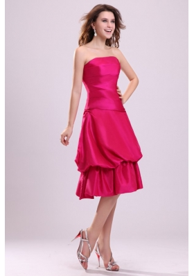 Simple Tea-length Taffeta Prom Holiday Dress on Big Promotion