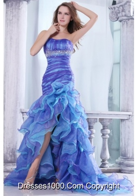 Colorful Prom Dresses | Ombre Evening Gowns | Multi Colored Dresses