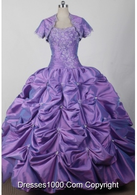 2012 Classical Ball Gown Sweetheart Floor-length Qunceanera Dress