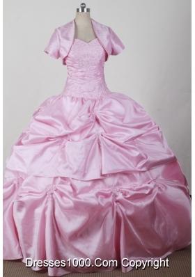 2012 Discout Ball Gown Sweetheart Floor-length Qunceanera Dress
