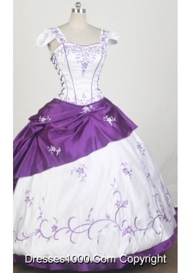 Exquisite Ball Gown Square Neck Floor-length Quinceanera Dress