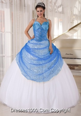 Blue And White Ball Gowns Gallery For &gt...
