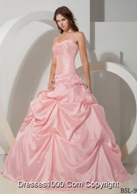 New Style Puffy Sweetheart Quinceanera Dresses with Beading
