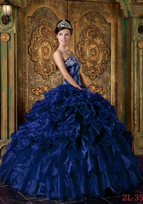 Royal Blue Quinceanera Dresses | Royal Blue Sweet 16 Dress