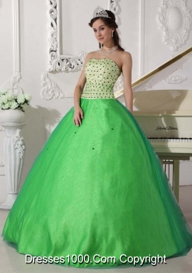 Cheap Sweetheart 2014 Quinceanera Dresses with  Beading