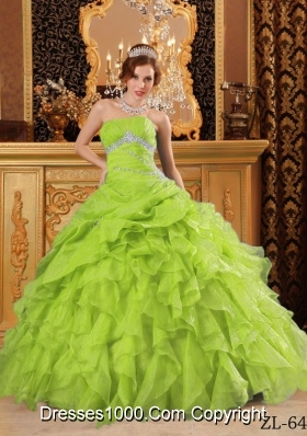2017 Lime Green Quinceanera Dresses, Discount Lime Green ...