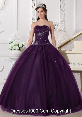 Discount Dark Purple Quinceanera Gowns, Low Price Dark Purple ...
