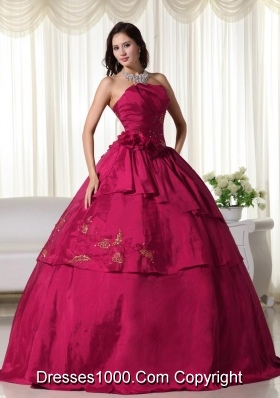 Flowers Quinceanera Dresses for 2014