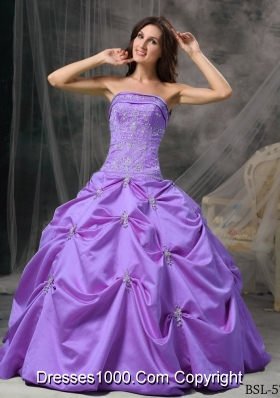 Modest Strapless Beading The Super Hot Quinceanera Dress with Pick-ups