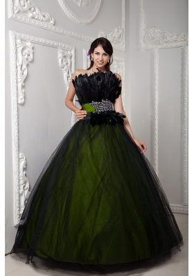 Discount Strapless Sweet Sixteen Dresses with Beading
