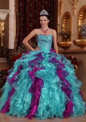 48f54acf2ac 2014 Spring Exclusive Puffy Sweetheart Beading Quinceanera Dresses