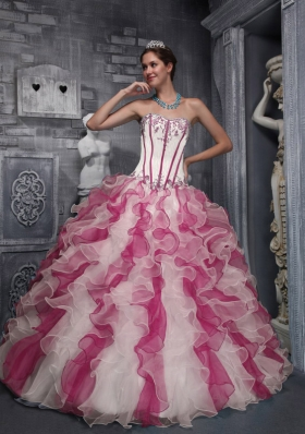 Sweet Puffy Sweetheart 2014 Spring Appliques Quinceanera Dresses