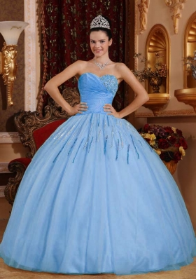 2017 Light Blue Quinceanera Dresses, Discount Light Blue ...