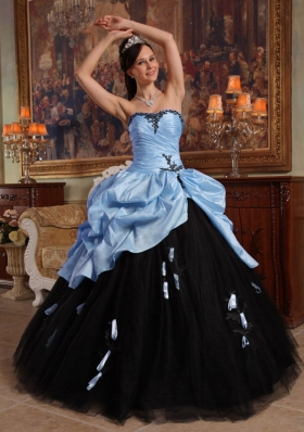 2014 Multi-color Puffy Sweetheart Quinceanera Dresses with Hand Made Flowers