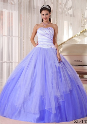 Affordable Puffy Sweetheart Beading Quinceanera Dresses for 2014